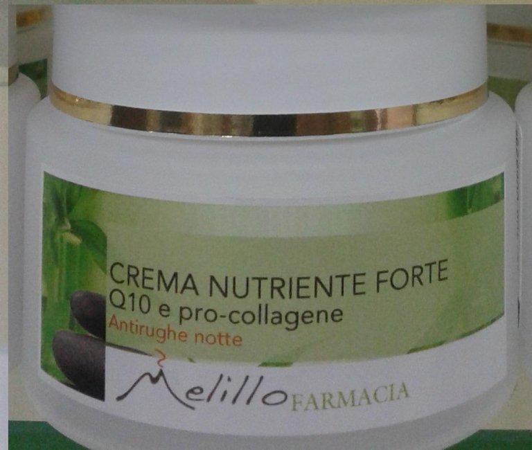 Crema nutriente antirughe notte
