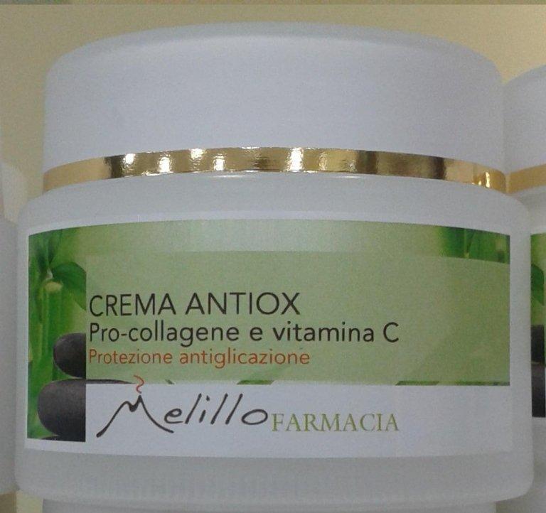 Creme antiossidanti, protezione antiglicazione