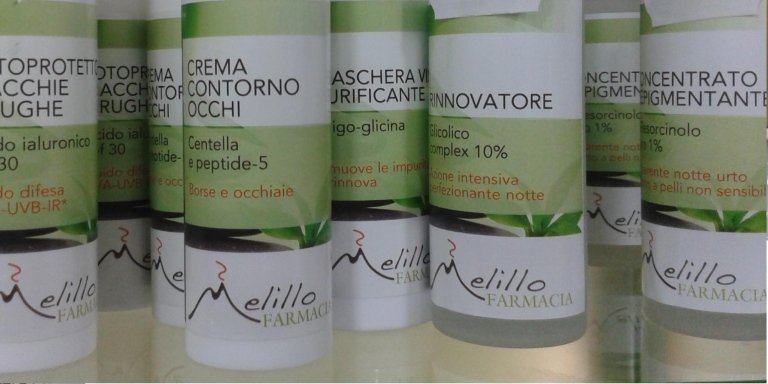 Prodotti di bellezza Farmacia Melillo