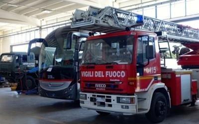 riparazione mezzi vigili del fuoco