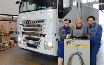 servizio assistenza veicoli industriali