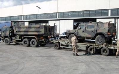 riparazione mezzi militari