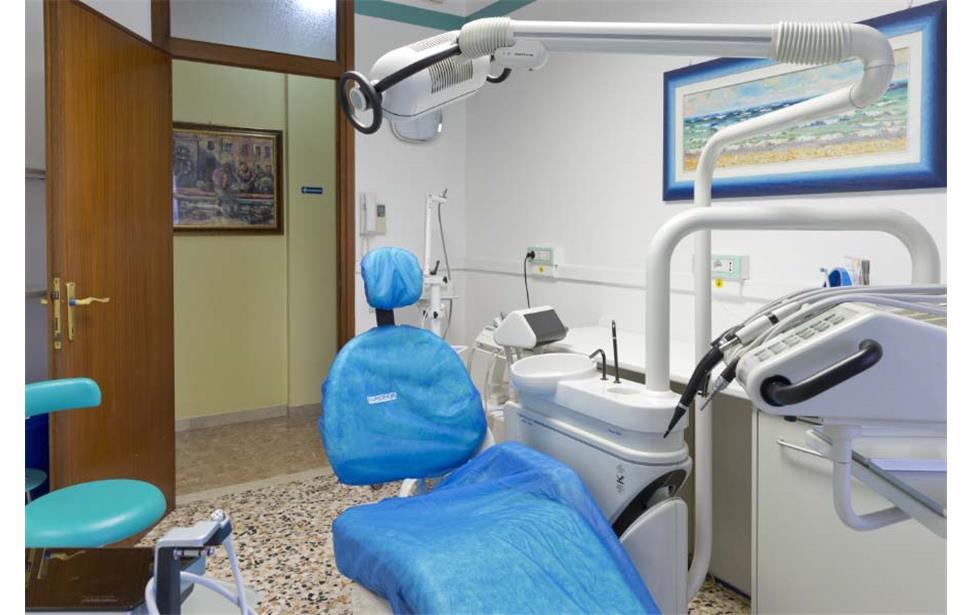 Stanza di lavoro del dentista