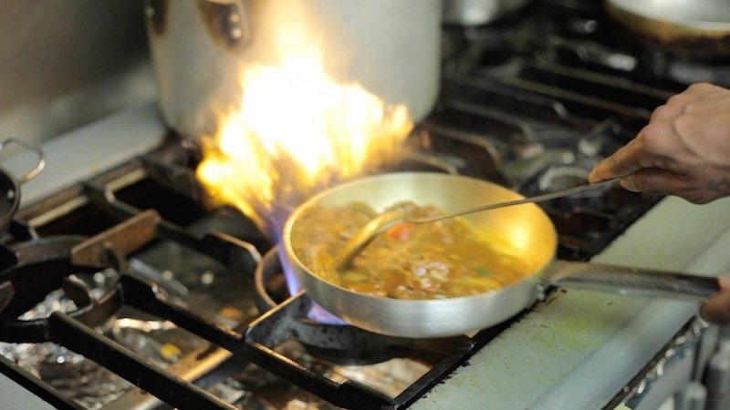 Tandoori curry