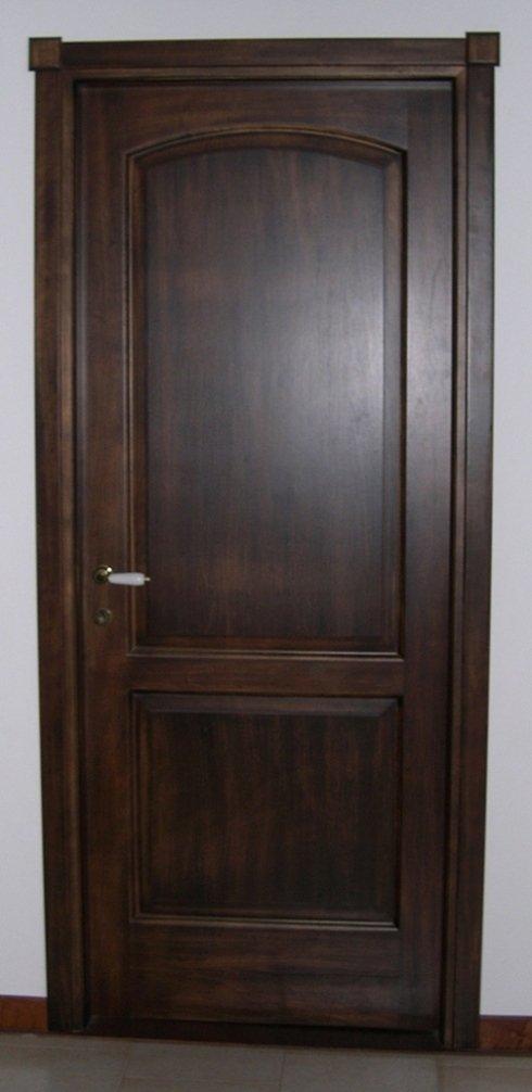 porta interna in pioppo patinato