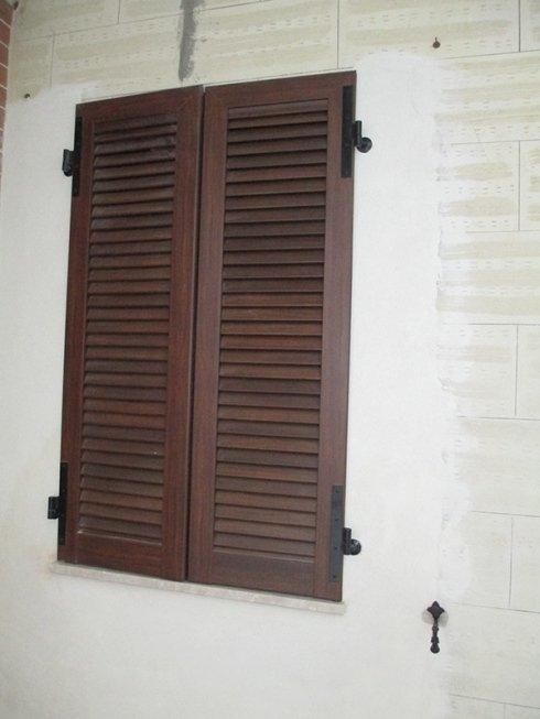 serramenti di legno lamellare