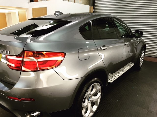 Silver BMW x6