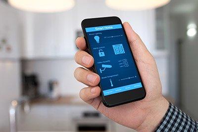 Controllo dei sistemi casalinghi tramite app a Calusco d'Adda
