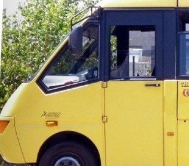 trasporto scolastico, minivan, minibus
