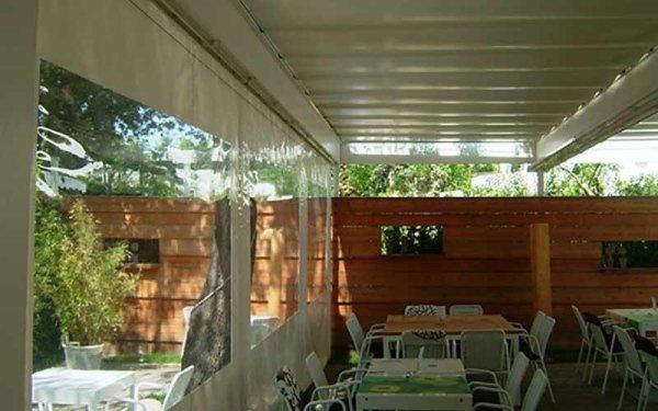 tende in pvc esterno