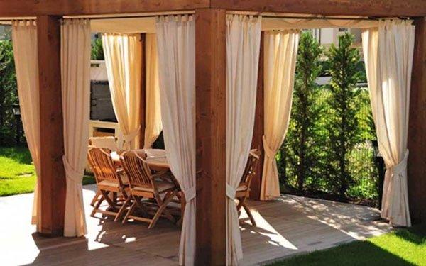 vendita strutture a telo fisso legno