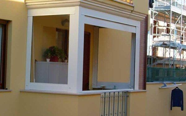 tende in pvc per balconi