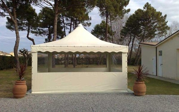 tende in pvc gazebo