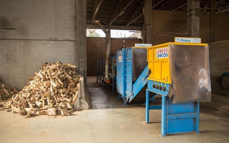 sistemazione legnami