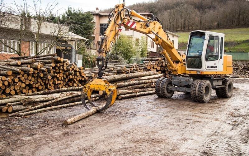 Movimentazione legna