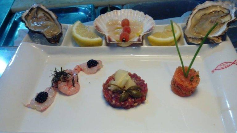 Crudité di pesce