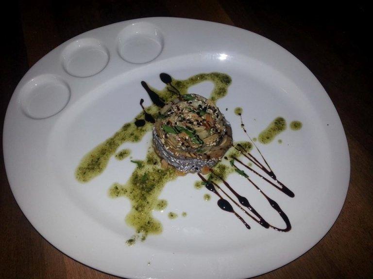 Seafood tartlet