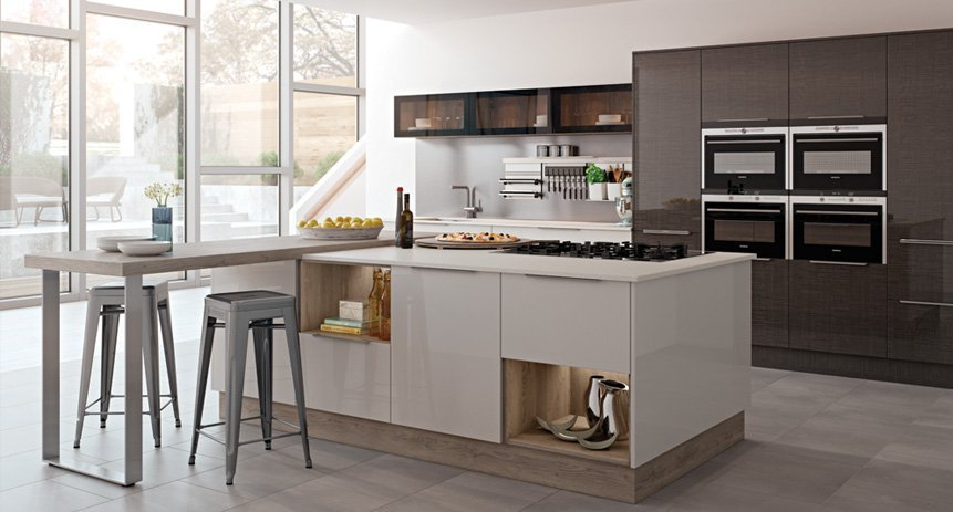 Interchangeable kitchen cabinets
