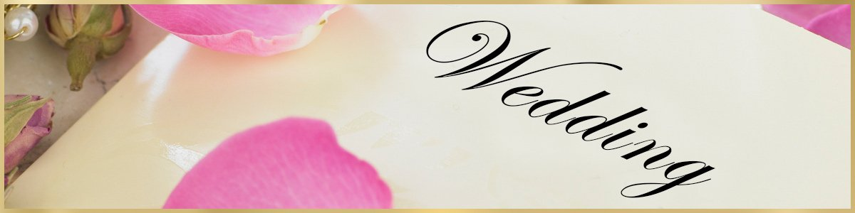 art script calligraphy invitation for wedding