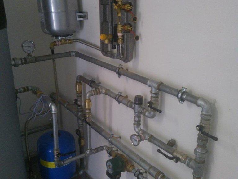 collegamento pompe di calore