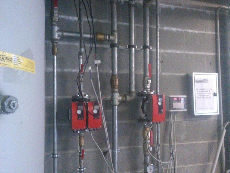 impianti industriali per riscaldamento
