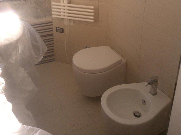 posa sanitari bagno