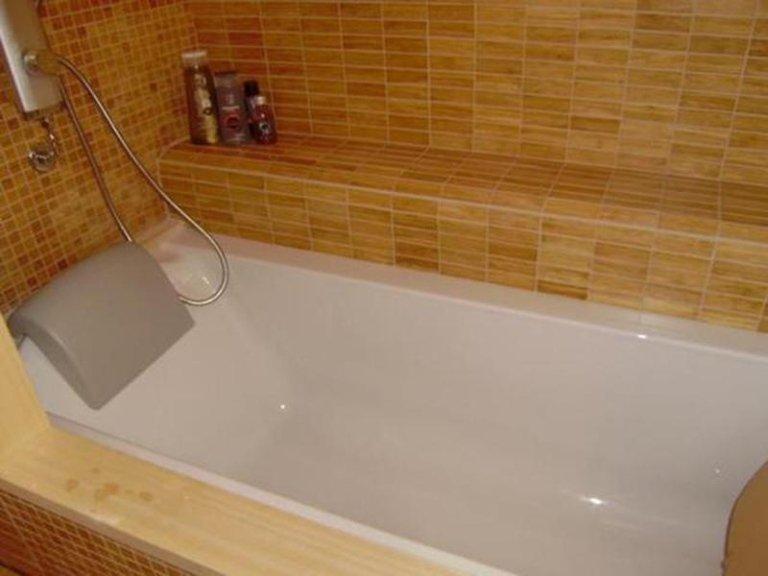 vasca con doccia