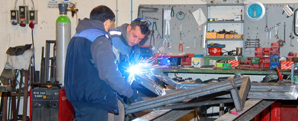 Lavorazioni in ferro, Lavorazioni in alluminio, Rieti