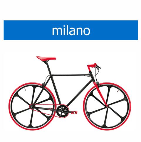 bicicletta Olmo modello Milano