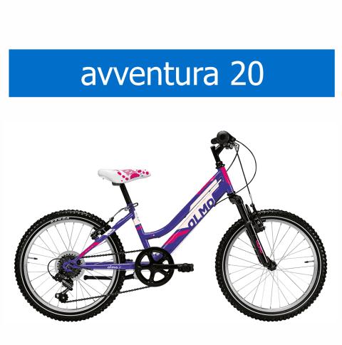 bicicletta Olmo modello Avventura 20