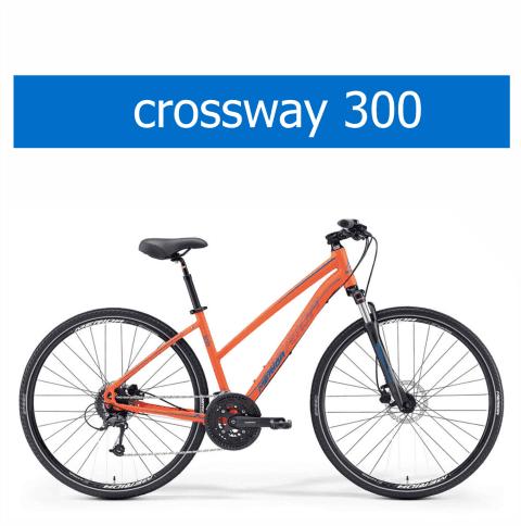 bicicletta Olmo modello Merida Crossway 300