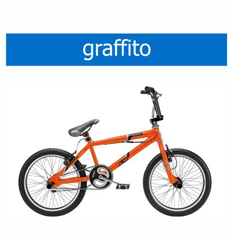 bicicletta Olmo modello Graffito