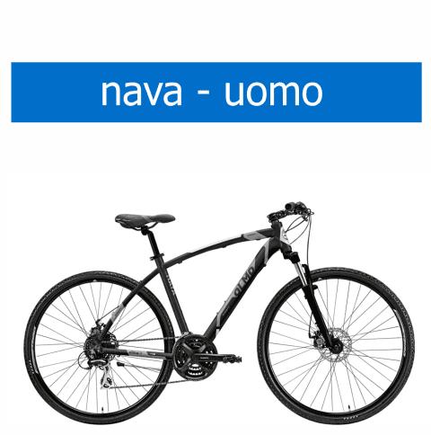 bicicletta Olmo modello Nava uomo