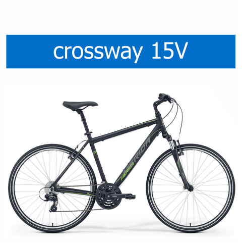 bicicletta Olmo modello Merida Crossway 15V
