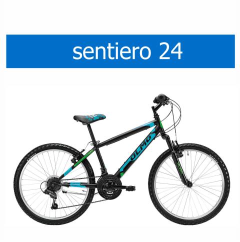bicicletta Olmo modello Sentiero 24
