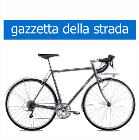 bicicletta Olmo modello Cinelli gazzetta della strada