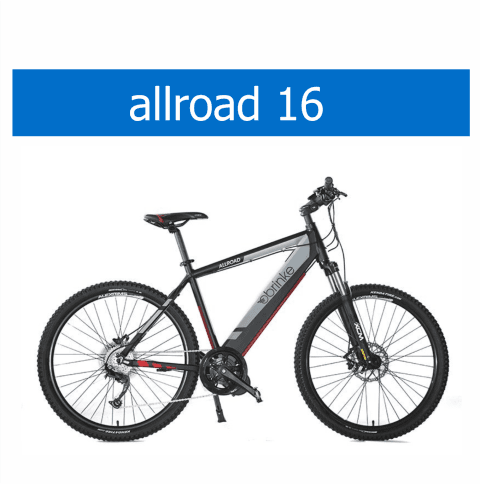 bicicletta Brinke modello Allroad 16