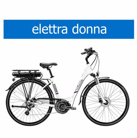 bicicletta Olmo modello Elettra donna