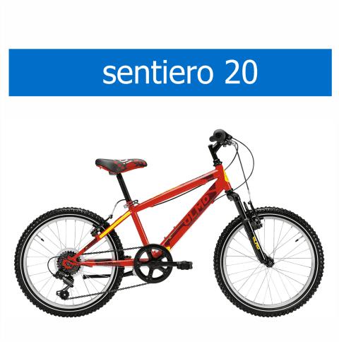 bicicletta Olmo modello Sentiero 20