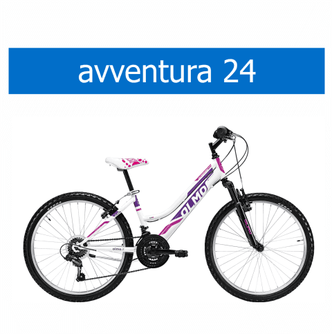 bicicletta Olmo modello Avventura 24