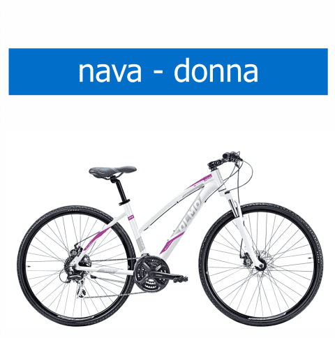 bicicletta Olmo modello Nava donna