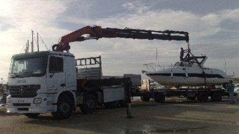 carico imbarcazioni