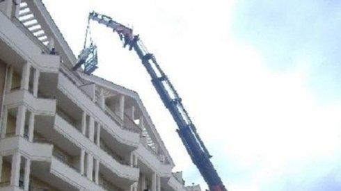 noleggio autogru per lavori edili