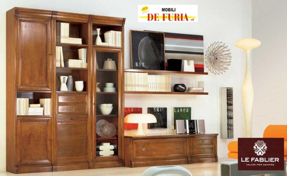 Pareti attrezzate avellino mobili de furia - Soggiorni classico moderno ...