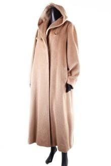 Cappotto Alpaca con cappuccio