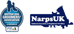British dog groomers' association, NarpsUK logo
