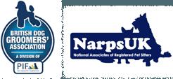 British dog groomers' association, NarpsUK logo