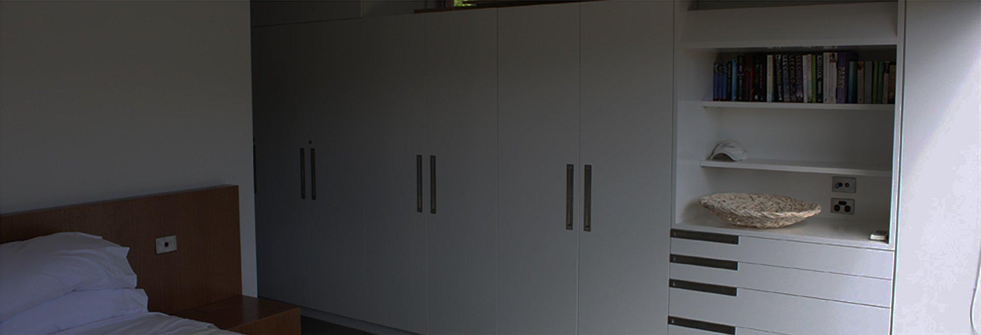 Custom furniture designed for the house
