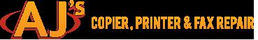 AJ's Copier, Printer & Fax Repair logo