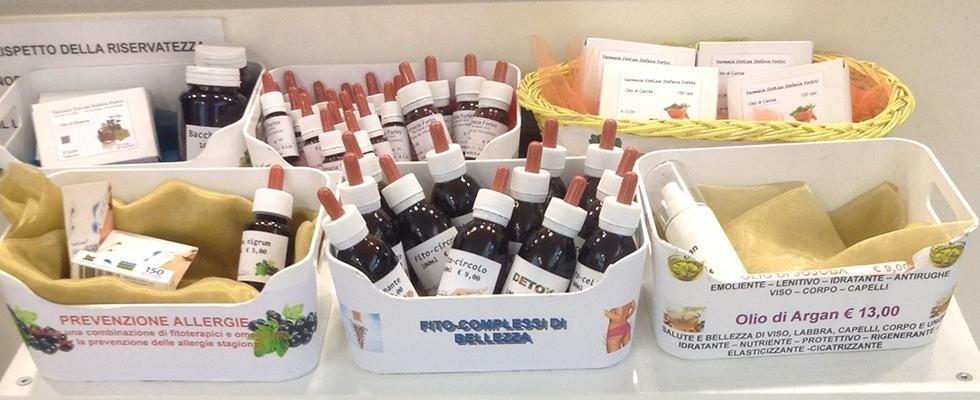 Fitoterapia, prodotti omeopatici, preparazioni officinali, Viterbo